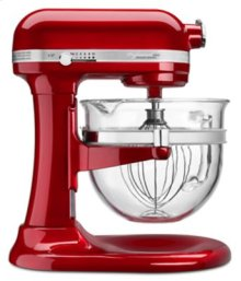 Professional 6500 Design Series 6 Quart Bowl-Lift Stand Mixer - Candy Apple Red