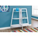 """BOOKCASE - 48""""H / WHITE ACCENT ETAGERE Product Image"""