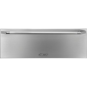 "DacorHeritage 27"" Epicure Warming Drawer, Silver Stainless Steel"