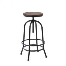 Modrest Davis Modern Brown Wood Bar Stool