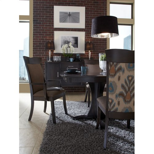 Grace Double Pedestal Table, 4 Leaf