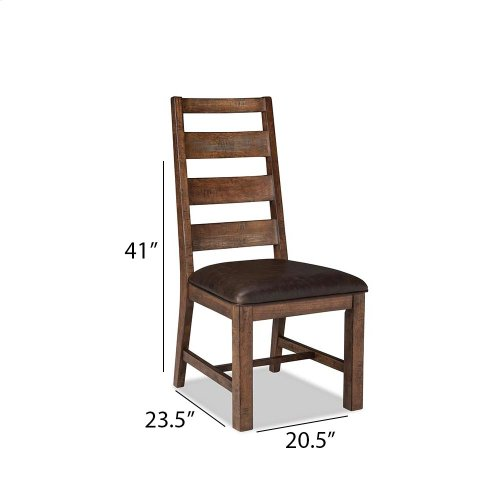 Dining - Taos Ladder Back Side Chair with Cushion