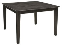 Counter Table - Gray/Black Finish