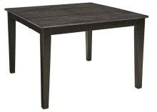 Counter Table - Gray/Black Finish