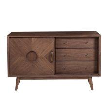 Mid Century Modern Distressed Dresser