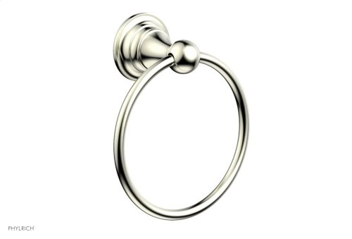 COURONNE MAISON Towel Ring 163-75 - Satin Nickel