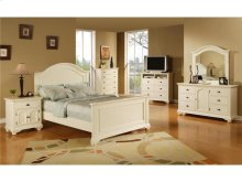 BP777LCW Brook Youth White Lingerie Chest