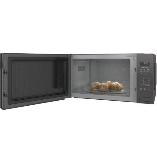 GE Profile™ Series 2.2 Cu. Ft. Built-In Sensor Microwave Oven