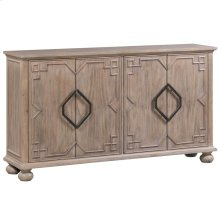 Hawthorne Estate 4 Door Raised Molding Sideboard
