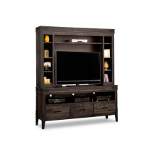 Chattanooga HDTV Unit with Hutch with 44'' TV Opening