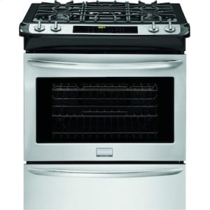 Gallery 30'' Slide-In Gas Range - STAINLESS STEEL