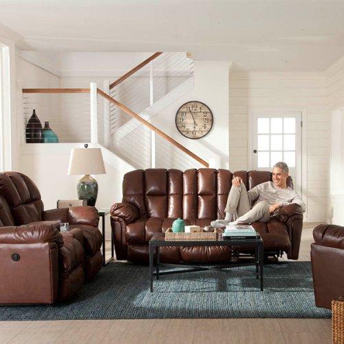 LUCAS COLL. Space Saver Reclining Sofa