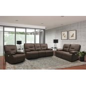 Spartacus Chocolate Power Reclining Collection