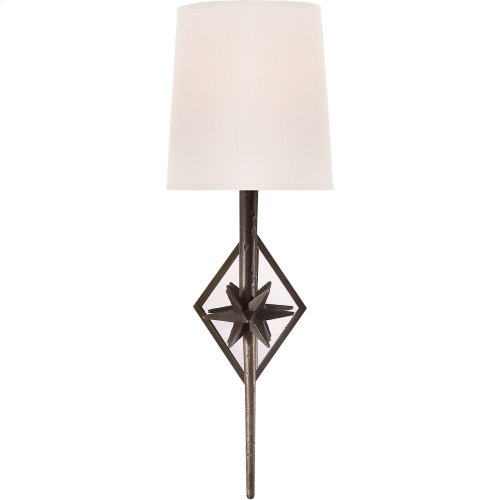 Visual Comfort S2320AI-NP Ian K. Fowler Etoile 1 Light 6 inch Aged Iron Decorative Wall Light