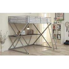 Full Size Workstation Loft Bed