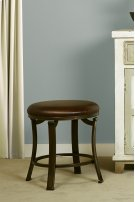 Hastings Backless Vanity Stool - Antique Bronze Product Image