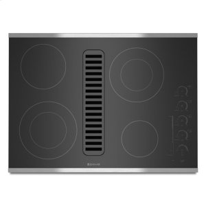 """Jenn-AirJenn-Air® Electric Radiant Downdraft Cooktop with Electronic Touch Control, 30"""" - Stainless Steel"""