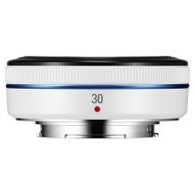 30mm NX Pancake Lens (White)