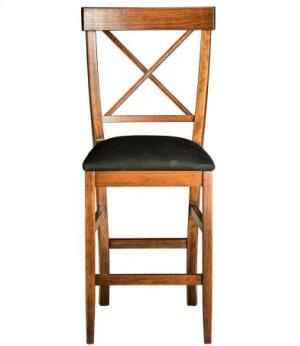 La Croix Counter Chair w/ Fabric Seat