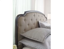 Upholstered Queen Panel Bed Complete