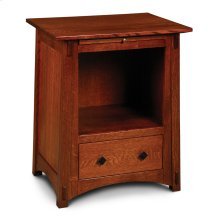 McCoy Deluxe Nightstand with Opening