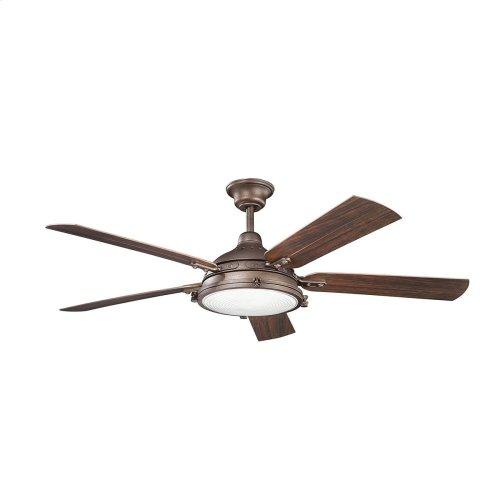 """Hatteras Bay Patio 60"""" Fan Weathered Copper"""
