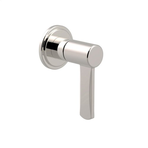 Volume Control and Diverter Darby Series 15 Polished Nickel