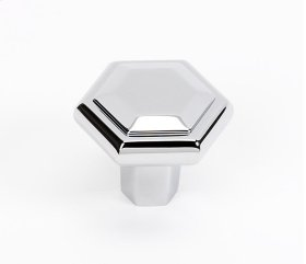 Nicole Knob A424 - Polished Chrome