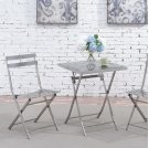 Lilah Stainless Folding Table Product Image