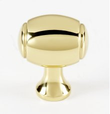 Royale Knob A981-1 - Polished Brass