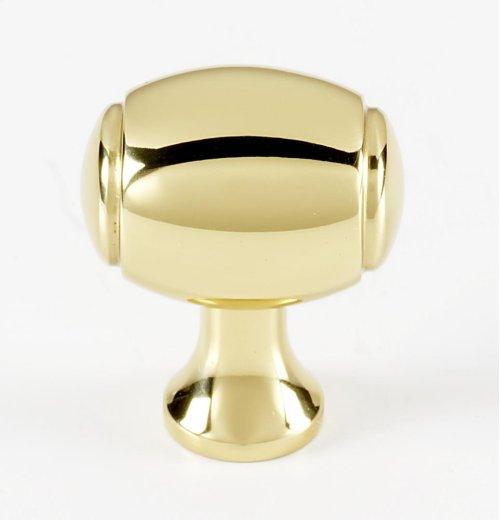 Royale Knob A981-1 - Polished Brass