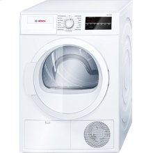 300 Series Cond. Dryer - 208/240V, Cap. 4.0 cu.ft., 15 Cyc.,67 dBA Galv.Drum, White/Door Non-Rev.
