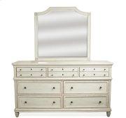 Huntleigh Seven Drawer Dresser Vintage White finish Product Image
