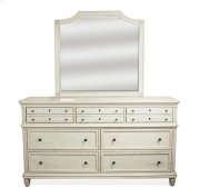 Huntleigh Seven Drawer Dresser Vintage White finish Product Image
