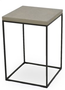 Side Table W/Concrete Board Top