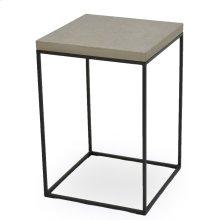Side Table W/Concrete Board Top