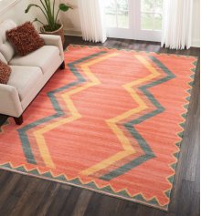 Madera Mad02 Tangerine Rectangle Rug 3'6'' X 5'6''