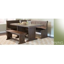 Homestead 3 PC Breakfast Nook Set