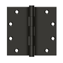 """5"""" x 5"""" Square Hinges - Oil-rubbed Bronze"""