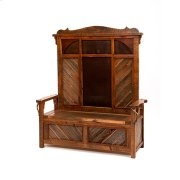 Western Traditions - Durango Lift Top Bench With Back Product Image