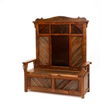 Western Traditions - Durango Lift Top Bench With Back