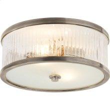 Visual Comfort AH4201AN-FG Alexa Hampton Randolph 2 Light 14 inch Antique Nickel Flush Mount Ceiling Light