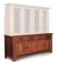 "Aspen Hutch Base with Inlay, 84 1/2""w, Aspen Hutch Base, 84 1/2""w, 19"" Base Product Image"
