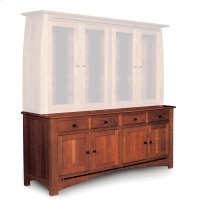"Aspen Hutch Base with Inlay, 84 1/2""w, Aspen Hutch Base, 84 1/2""w, 22"" Base Product Image"