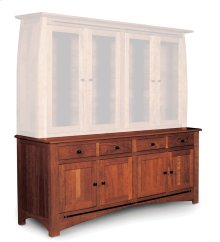 "Aspen Hutch Base with Inlay, Extra Large, Aspen Hutch Base, Extra Large, 19"" Base"