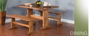 Sedona Ladderback Chair w/ Wood Seat