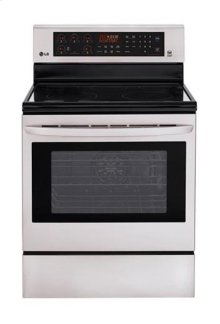 6.3 cu. ft. Capacity Electric Single Oven Range with True Convection and EasyClean® **** FLOOR MODEL CLOSEOUT PRICING****