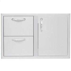 Blaze GrillsBlaze 32 Inch Access Door & Double Drawer Combo