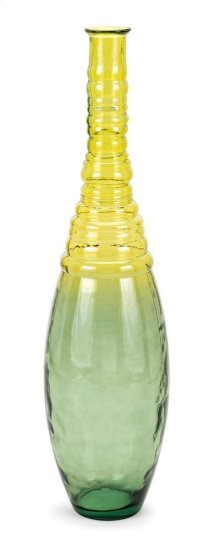 Aloha Tall Oversized Recycled Glass Vase