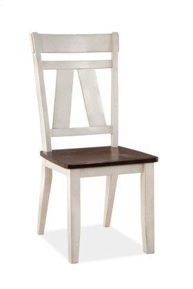 Winslow Farmhouse 2 Tone Side Chair